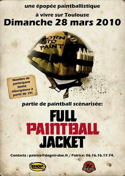 Full Paintball Jacquet Born2p11