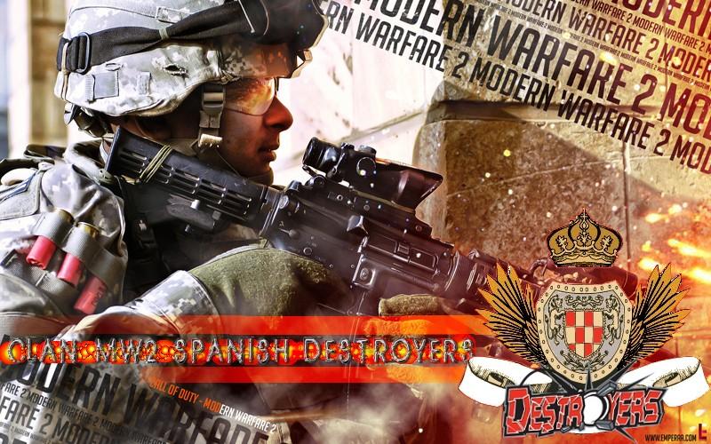 CLAN MW2 SPANISH DESTROYERS