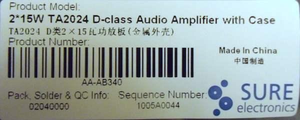 SURE TA2024C nuovo ampli ta2024 - Pagina 2 Dscf0310