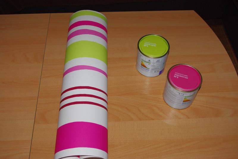 Mes WC en vert anis et fushia : tapisserie finie Imgp7513