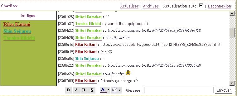 Les plus beaux instants de la Chat Box... Screen11