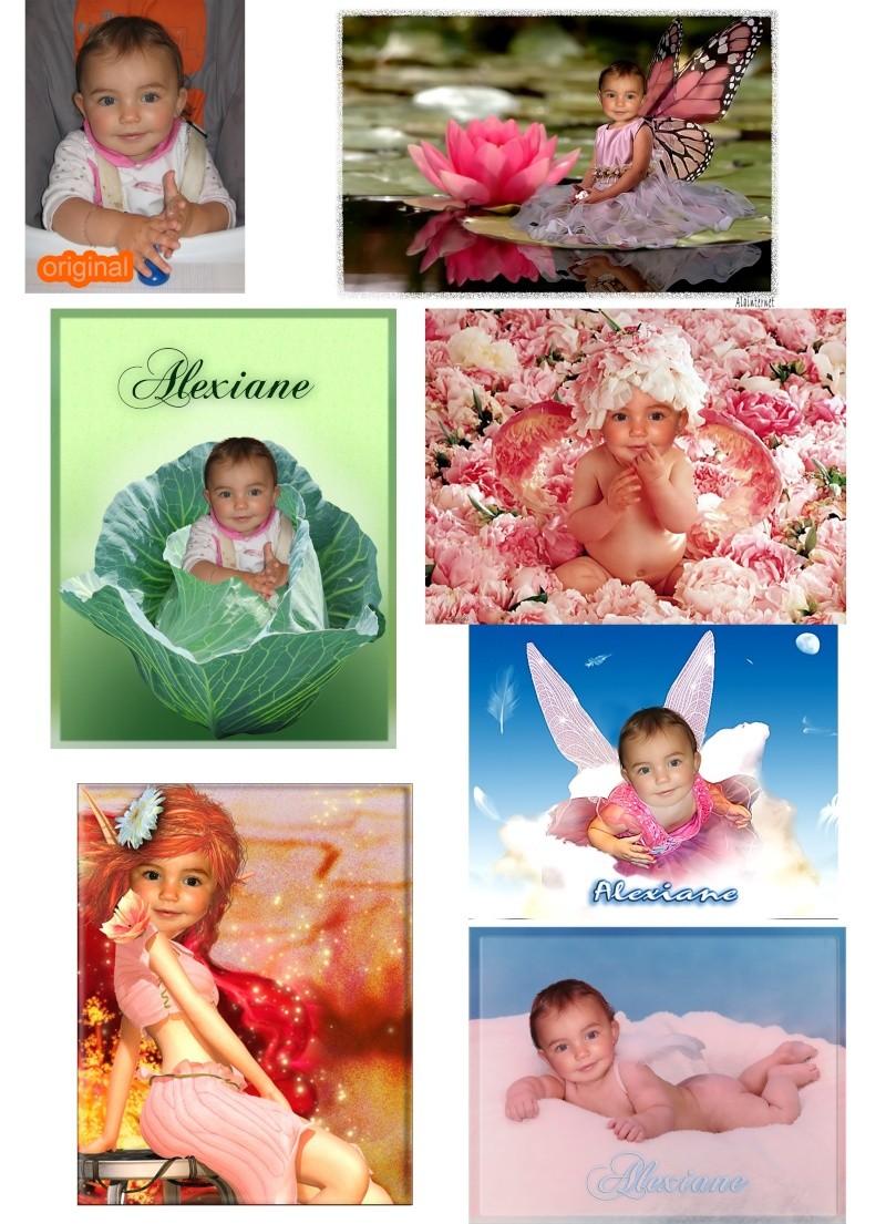 montages enfants - Page 9 Alexia11