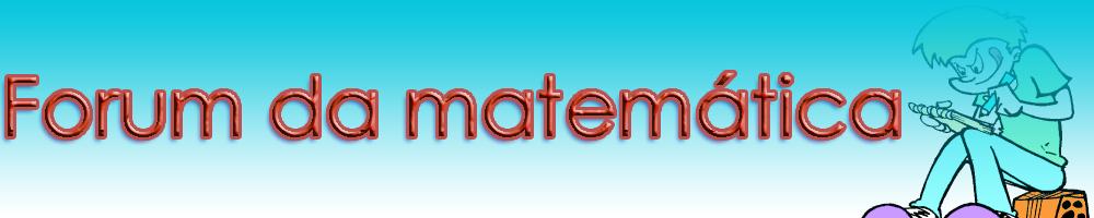 Forum da Matemática