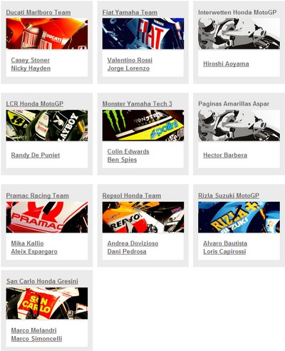moto GP 2010 Ecurie10