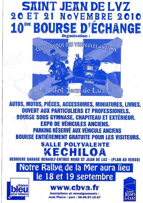 X Bourse d'echange Saint Jean de Luz (20-21/11/2010) Img00110