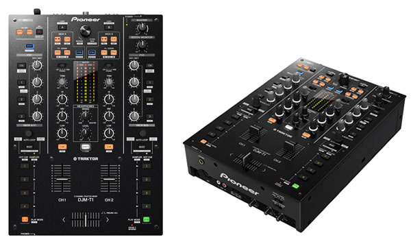 Introducing the DJM-T1 with TRAKTOR SCRATCH DUO 2 software Djm-t110
