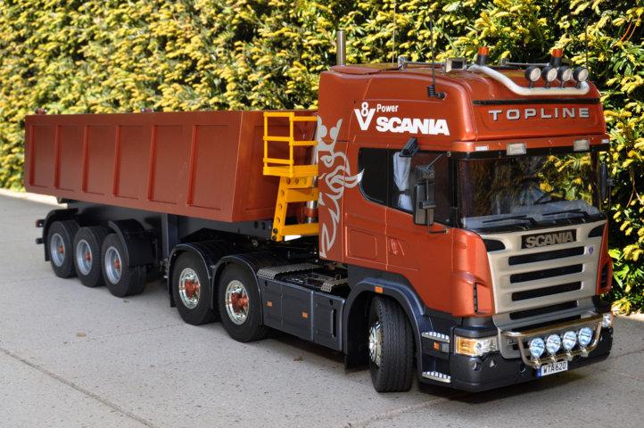 Mein Scania endlich draussen ausprobiert Dsc_3511