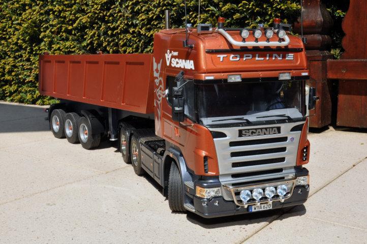 Mein Scania endlich draussen ausprobiert Dsc_3514
