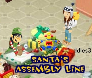Santa's Assembly Game Gift! Gu12