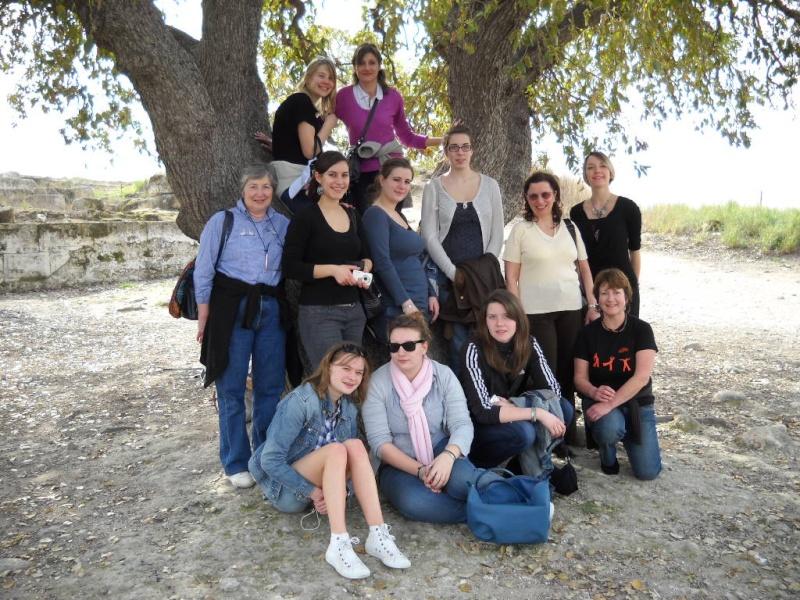COMPIEGNE: L'école de danse d'Anne le Rouzic à Kiriat Tivon Dscn0010