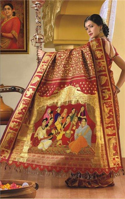 Модные сари. 51441411