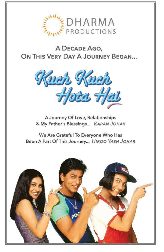 Все в жизни бывает / Kuch Kuch Hota Hai, 1998 Kinopo20