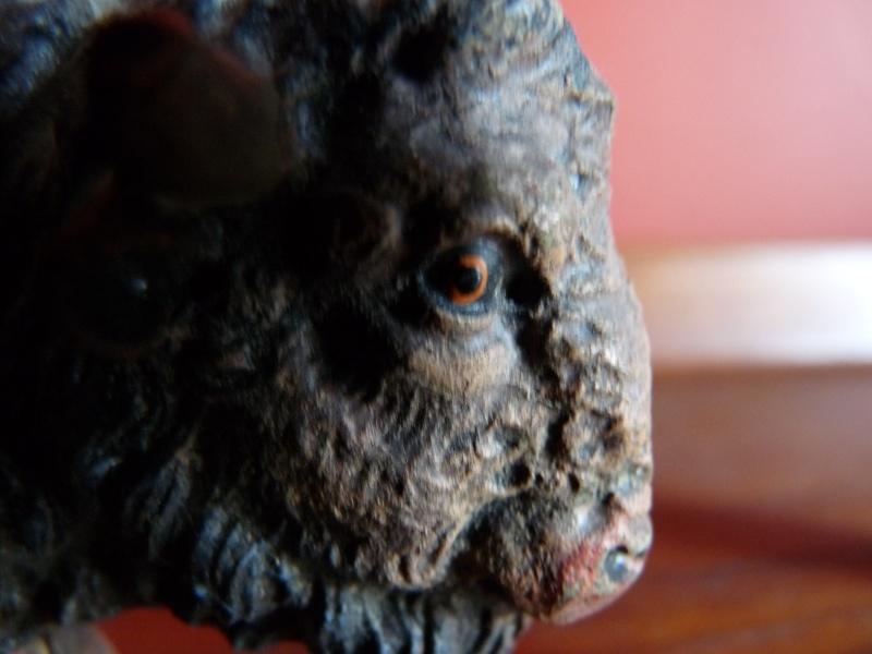 The amazing Elastolin buffalo and dromedary Buffal10
