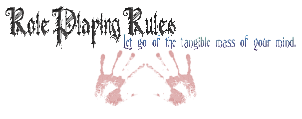 New Role Playing Rules Rprule14