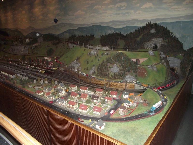 Modelleisenbahn im Verkehrsmuseum Nürnberg. 2010_511