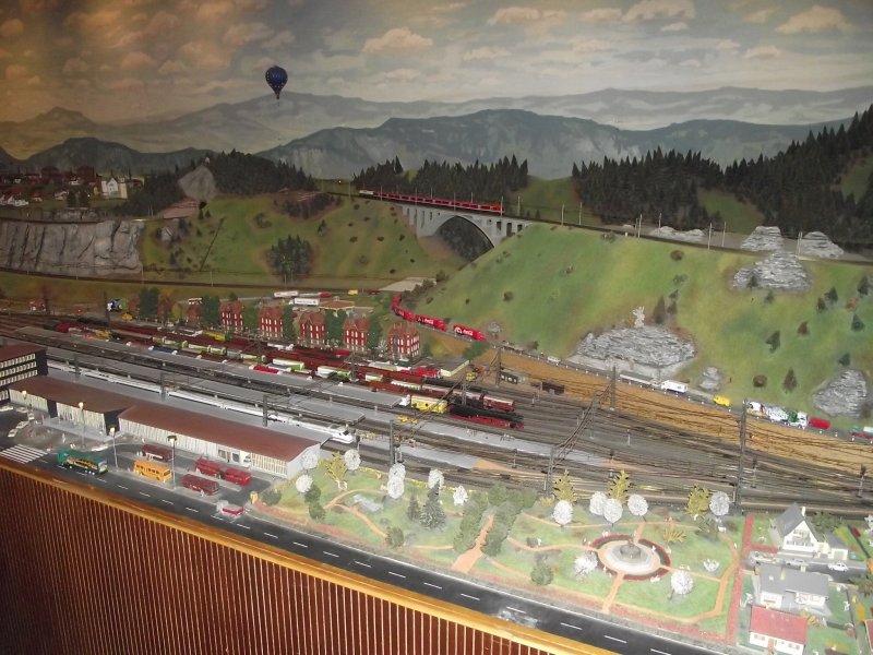 Modelleisenbahn im Verkehrsmuseum Nürnberg. 2010_512