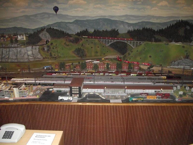 Modelleisenbahn im Verkehrsmuseum Nürnberg. 2010_513