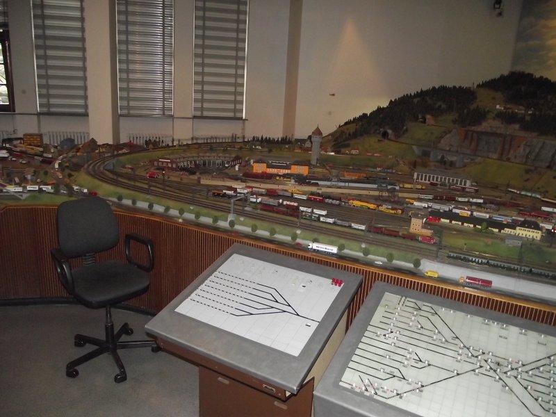 Modelleisenbahn im Verkehrsmuseum Nürnberg. 2010_521