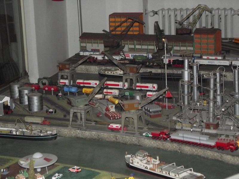 Modelleisenbahn im Verkehrsmuseum Nürnberg. 2010_526