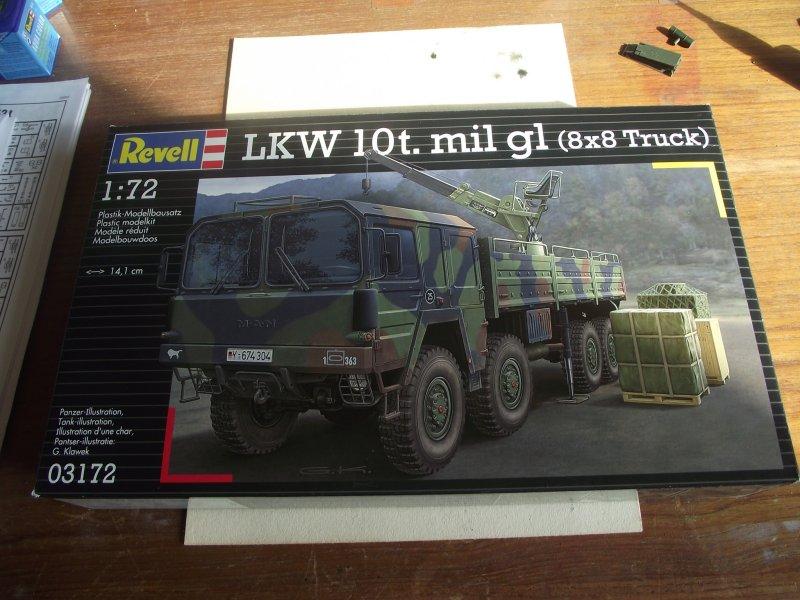 MAN LKW 10t mil gl (8*8) 1:72 Revell   Bild_168
