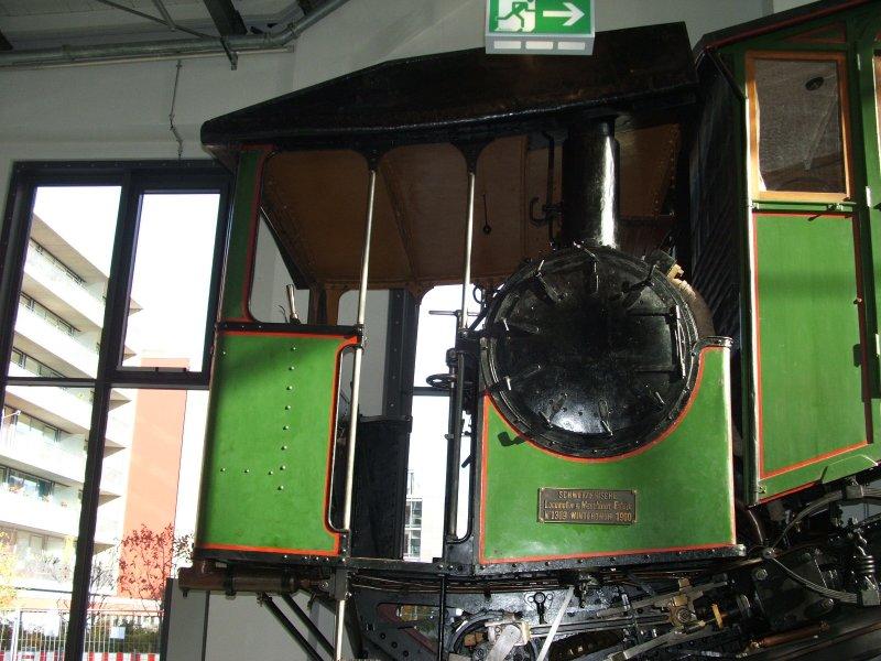 Zahnrad-Dampftriebwagen Dscf0348