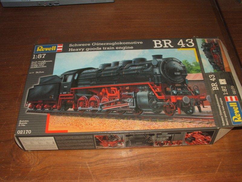Schwere Güterzuglokomotive BR43 1:87 Dscf5612