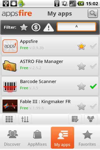 [SOFT] APPSFIRE : Découvrer des apps, partager les, ect [Gratuit]  Appsfi10