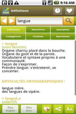 [SOFT] DICTIONNAIRE MEDIADICO : Dictonnaire français et anglais [Payant] Dictio10
