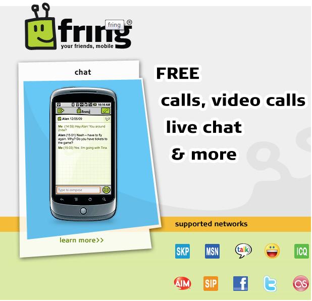[SOFT] FRING : Messagerie instantanée [Gratuit] Fring10