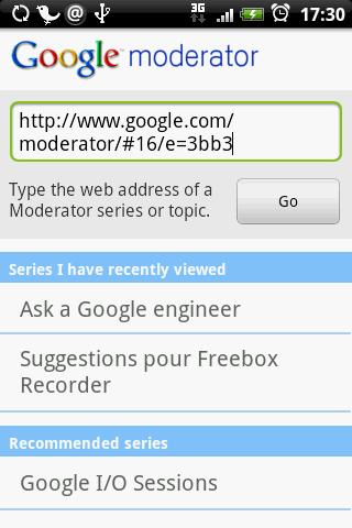 [SOFT] GOOGLE MODERATOR : Participer aux sondages du site Google Moderator [Gratuit] Google10
