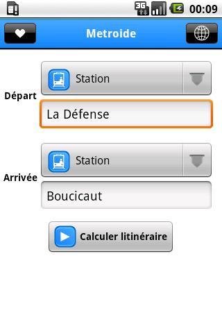 [SOFT] METROIDE : Calculer votre itinéraire du métro Parisien [Gratuit/Payant] Metroi10