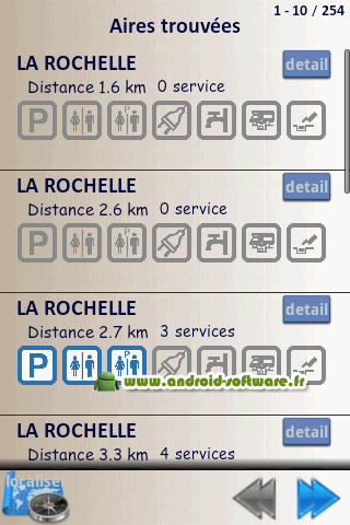 [SOFT] MOBILE CAR : Trouver une aire de service [Payant] Mobile10