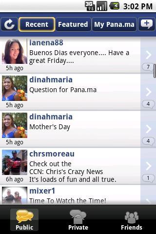 [SOFT] PANA.MA VOICE MESSENGER : Enregistrer des messages vocaux [Gratuit] Pana_m10