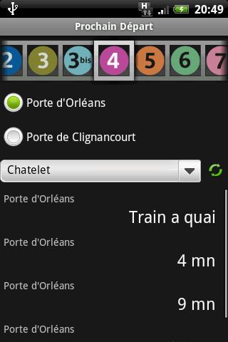 [SOFT] PROCHAIN DEPART : Horaire des prochains métros [Gratuit] Procha10