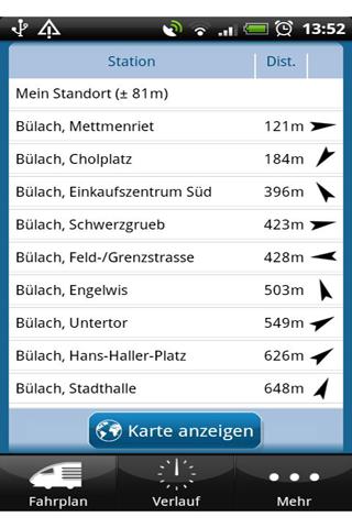 [SOFT] TIMETABLE SWITZERLAND : Retrouver les horaires des trains et bus [Gratuit] Timeta10
