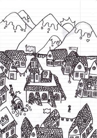 Village du moyen-Age Getatt10