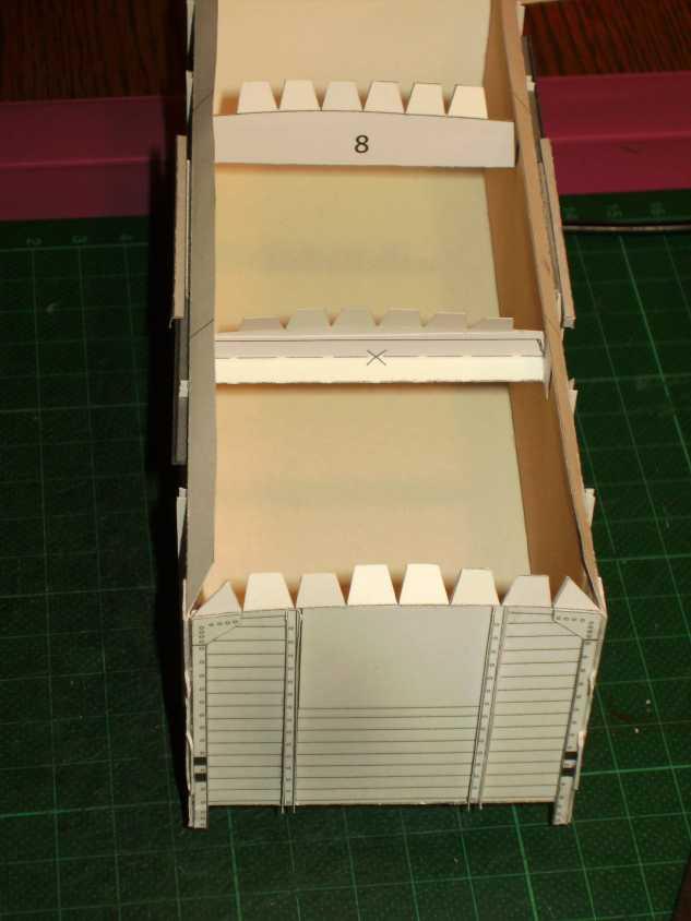 Kühlwagen G10 der DRG - fertig Aufbau13