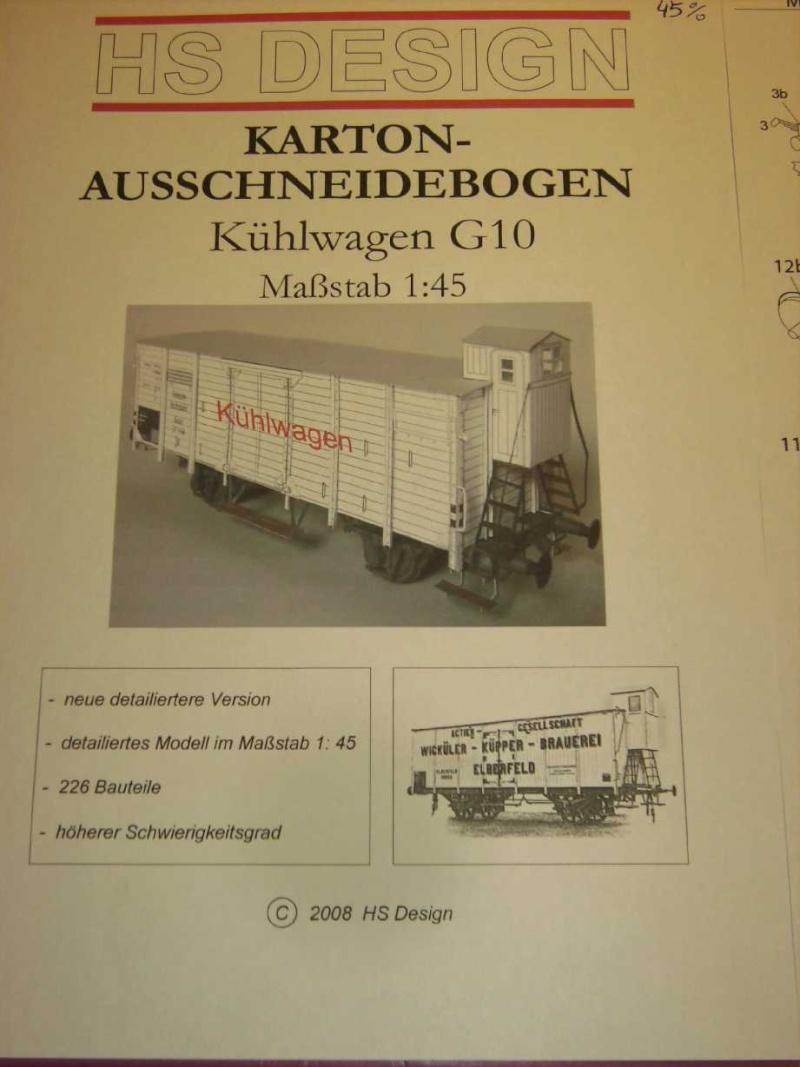 Kühlwagen G10 der DRG - fertig Bild3718