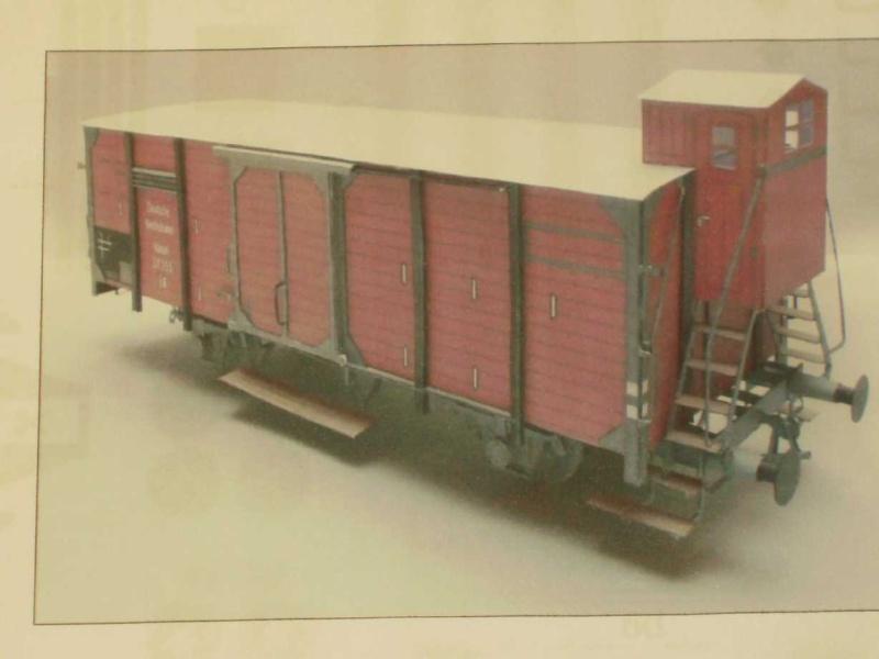 Kühlwagen G10 der DRG Bild3814