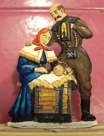 Weihnachten naht - Meine Krippe Bild5066