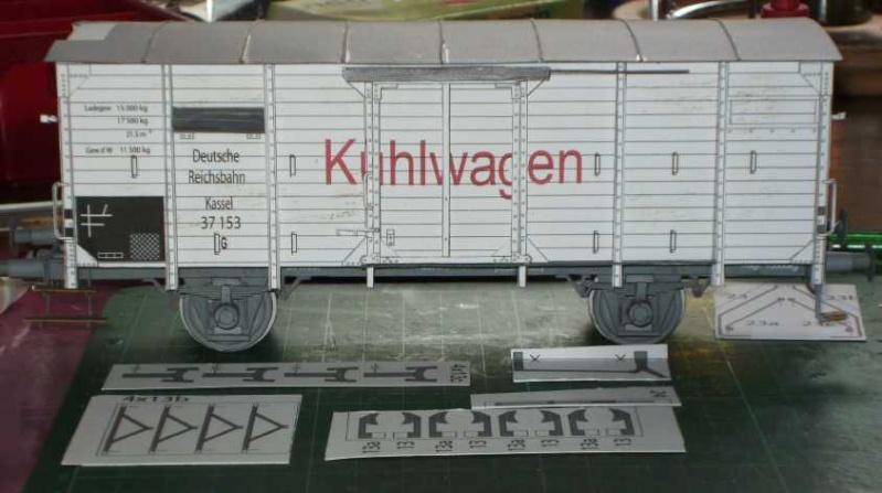 Kühlwagen G10 der DRG - fertig Fertig11