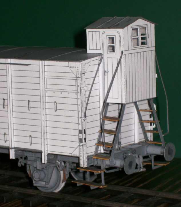 Kühlwagen G10 der DRG - fertig Fertig12