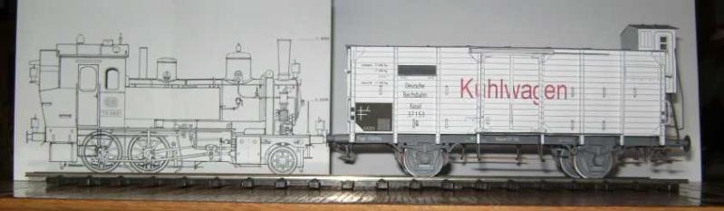 Kühlwagen G10 der DRG - fertig Fertig14
