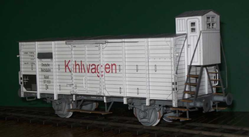 Kühlwagen G10 der DRG - fertig Fertig15