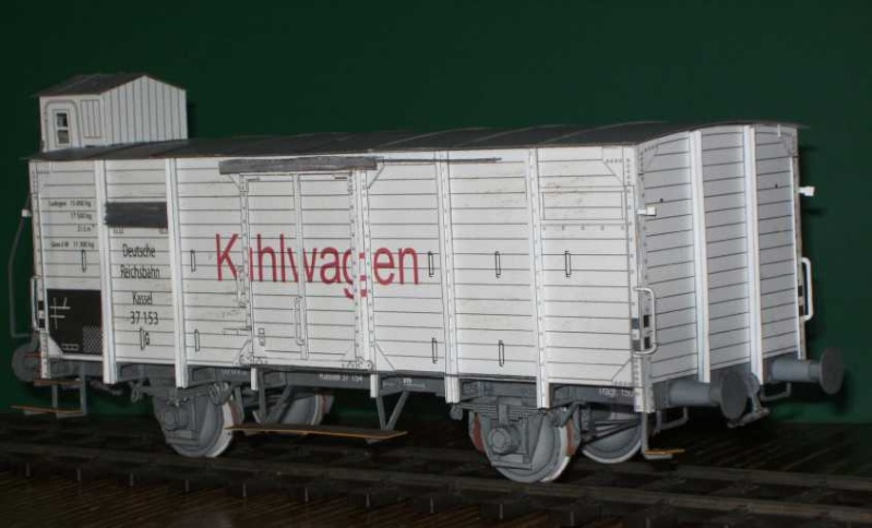 Kühlwagen G10 der DRG - fertig Fertig16