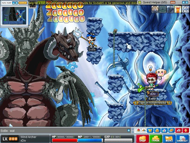 Hacker . i warned him . he still continue to hack Maple012