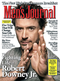 Robert Downey Jr. Covers 'Men's Journal' May 2010 210010