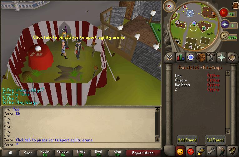 Agility skill help 000710