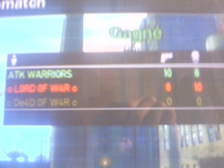 moi(WARRIORS) vs LORD OF WAR Revanc13