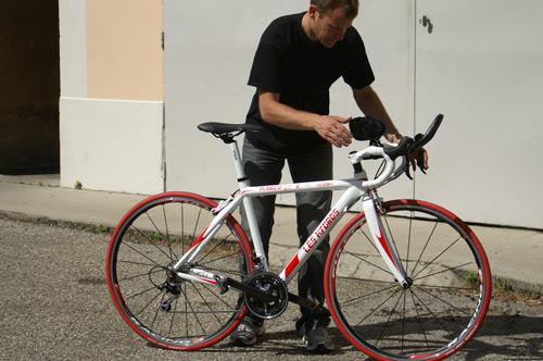 Vélo de Marco, projet en cours... Pict2312